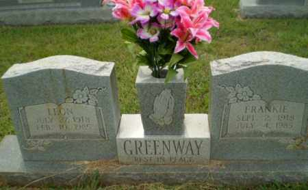 GREENWAY, FRANKIE - Greene County, Arkansas | FRANKIE GREENWAY - Arkansas Gravestone Photos
