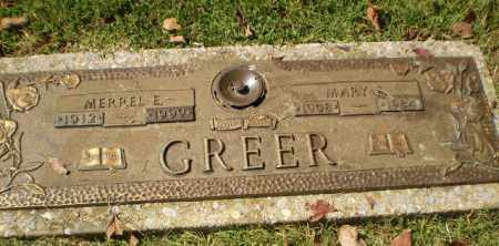 GREER, MARY E - Greene County, Arkansas | MARY E GREER - Arkansas Gravestone Photos