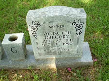 GREGORY, VONDA LOU - Greene County, Arkansas | VONDA LOU GREGORY - Arkansas Gravestone Photos