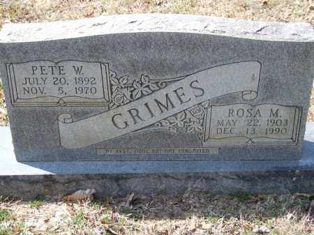 GRIMES, ROSA M. - Greene County, Arkansas | ROSA M. GRIMES - Arkansas Gravestone Photos