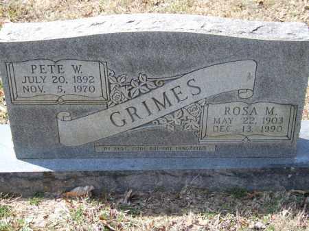 GRIMES, ROSA M. - Greene County, Arkansas | ROSA M. GRIMES - Arkansas Gravestone Photos