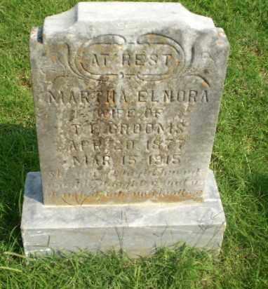 GROOMS, MARTHA ELNORA - Greene County, Arkansas | MARTHA ELNORA GROOMS - Arkansas Gravestone Photos