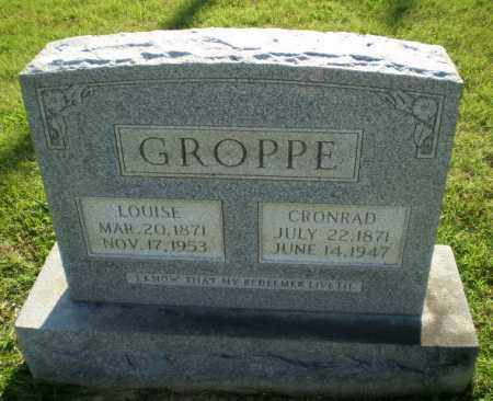 GROPPE, LOUISE - Greene County, Arkansas | LOUISE GROPPE - Arkansas Gravestone Photos
