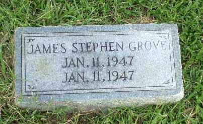 GROVE, JAMES STEPHEN - Greene County, Arkansas   JAMES STEPHEN GROVE - Arkansas Gravestone Photos