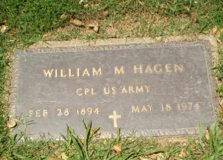HAGEN  (VETERAN), WILLIAM M - Greene County, Arkansas | WILLIAM M HAGEN  (VETERAN) - Arkansas Gravestone Photos