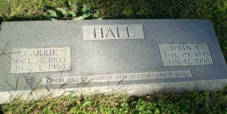 HALL, JOHN L - Greene County, Arkansas | JOHN L HALL - Arkansas Gravestone Photos