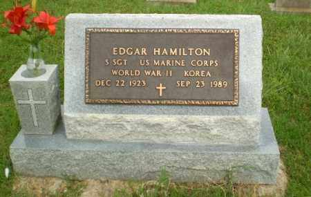 HAMILTON (VETERAN 2 WARS), EDGAR - Greene County, Arkansas   EDGAR HAMILTON (VETERAN 2 WARS) - Arkansas Gravestone Photos