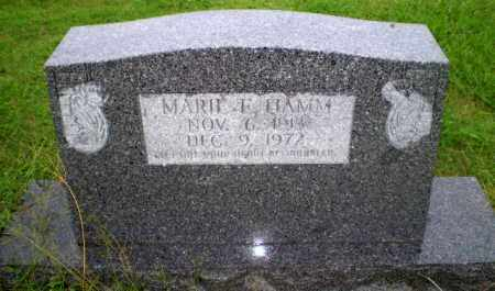 HAMM, MARIE - Greene County, Arkansas | MARIE HAMM - Arkansas Gravestone Photos