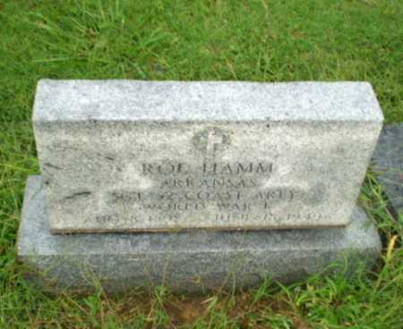 HAMM (VETERAN WWI), ROE - Greene County, Arkansas | ROE HAMM (VETERAN WWI) - Arkansas Gravestone Photos