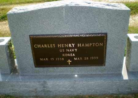 HAMPTON  (VETERAN  KOR), CHARLES HENRY - Greene County, Arkansas | CHARLES HENRY HAMPTON  (VETERAN  KOR) - Arkansas Gravestone Photos