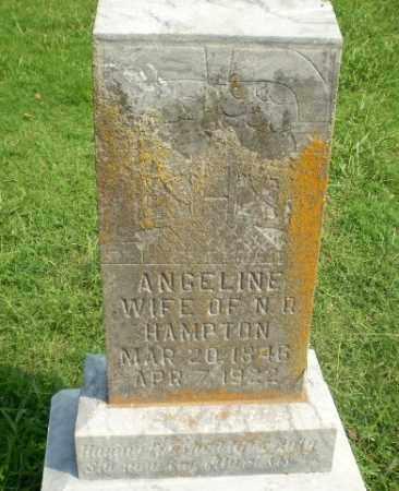 HAMPTON, ANGELINE - Greene County, Arkansas   ANGELINE HAMPTON - Arkansas Gravestone Photos