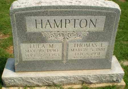 HAMPTON, LULA M - Greene County, Arkansas   LULA M HAMPTON - Arkansas Gravestone Photos