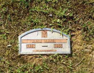HANEL, ANNA - Greene County, Arkansas   ANNA HANEL - Arkansas Gravestone Photos