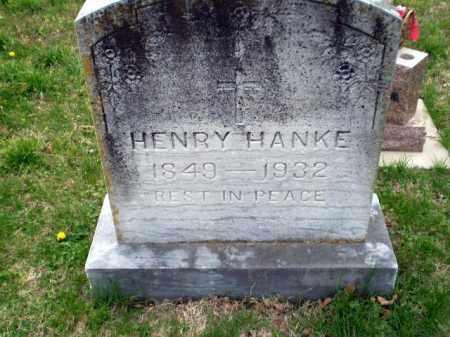HANKE, HENRY - Greene County, Arkansas | HENRY HANKE - Arkansas Gravestone Photos