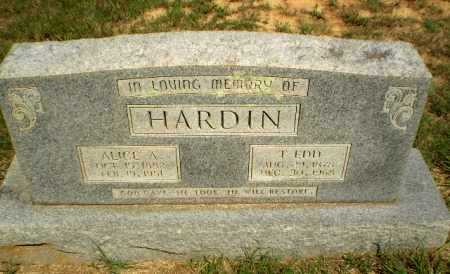 HARDIN, T.EDD - Greene County, Arkansas | T.EDD HARDIN - Arkansas Gravestone Photos