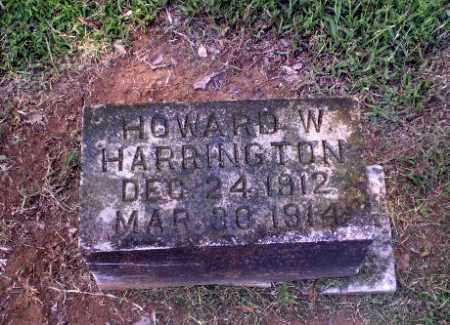 HARRINGTON, HOWARD W - Greene County, Arkansas | HOWARD W HARRINGTON - Arkansas Gravestone Photos