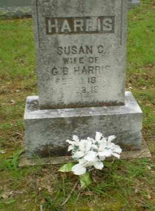 HARRIS, SUSAN C. - Greene County, Arkansas   SUSAN C. HARRIS - Arkansas Gravestone Photos