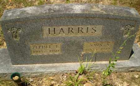 HARRIS, ZEPHEL F - Greene County, Arkansas   ZEPHEL F HARRIS - Arkansas Gravestone Photos