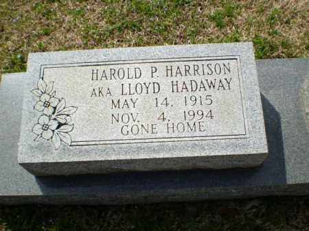 HADAWAY, LLOYD - Greene County, Arkansas | LLOYD HADAWAY - Arkansas Gravestone Photos