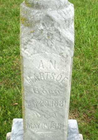 HARTSOE, A.N - Greene County, Arkansas | A.N HARTSOE - Arkansas Gravestone Photos