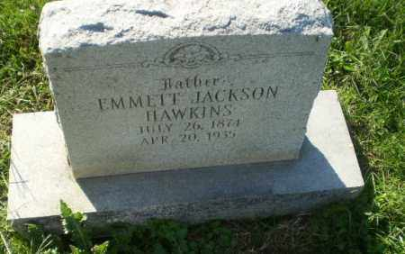 HAWKINS, EMMETT JACKSON - Greene County, Arkansas | EMMETT JACKSON HAWKINS - Arkansas Gravestone Photos