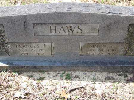 HAWS, FRANCES E. - Greene County, Arkansas | FRANCES E. HAWS - Arkansas Gravestone Photos