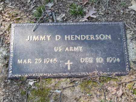 HENDERSON, JIMMY D. - Greene County, Arkansas | JIMMY D. HENDERSON - Arkansas Gravestone Photos
