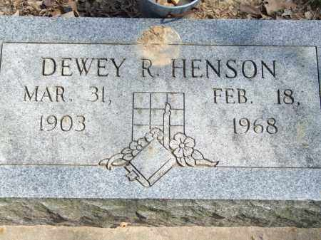 HENSON, DEWEY R. - Greene County, Arkansas | DEWEY R. HENSON - Arkansas Gravestone Photos