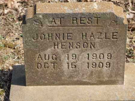 HENSON, JOHNIE HAZLE - Greene County, Arkansas | JOHNIE HAZLE HENSON - Arkansas Gravestone Photos