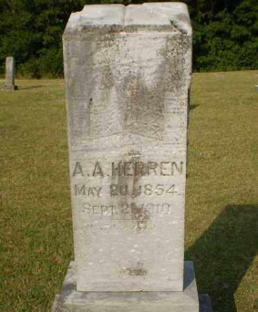 HERREN, A.A. - Greene County, Arkansas | A.A. HERREN - Arkansas Gravestone Photos