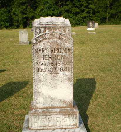 HERREN, MARY VIRGINIA - Greene County, Arkansas | MARY VIRGINIA HERREN - Arkansas Gravestone Photos