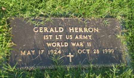 HERRON (VETERAN WWII), GERALD - Greene County, Arkansas | GERALD HERRON (VETERAN WWII) - Arkansas Gravestone Photos