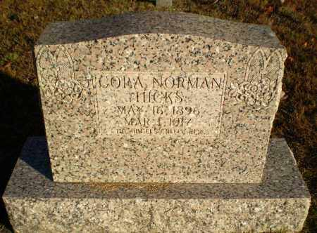 NORMAN HICKS, CORA - Greene County, Arkansas | CORA NORMAN HICKS - Arkansas Gravestone Photos