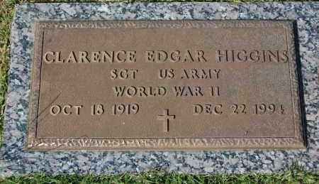 HIGGINS, CLARENCE EDGAR (CLOSEUP) - Greene County, Arkansas | CLARENCE EDGAR (CLOSEUP) HIGGINS - Arkansas Gravestone Photos