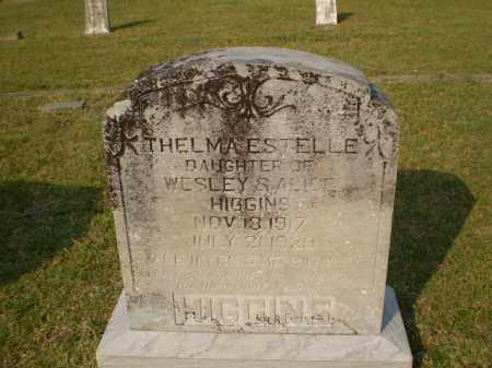 HIGGINS, THELMA ESTELLE - Greene County, Arkansas | THELMA ESTELLE HIGGINS - Arkansas Gravestone Photos