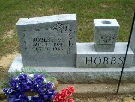 HOBBS, ROBERT M - Greene County, Arkansas   ROBERT M HOBBS - Arkansas Gravestone Photos