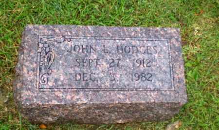 HODGES, JOHN L - Greene County, Arkansas | JOHN L HODGES - Arkansas Gravestone Photos