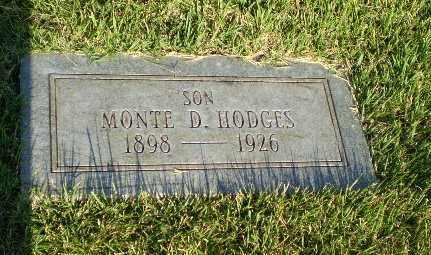 HODGES, MONTE D - Greene County, Arkansas | MONTE D HODGES - Arkansas Gravestone Photos