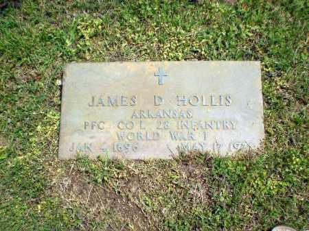 HOLLIS  (VETERAN WWI), JAMES D - Greene County, Arkansas   JAMES D HOLLIS  (VETERAN WWI) - Arkansas Gravestone Photos