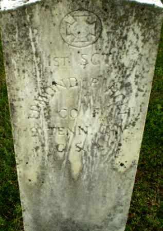 HOLT (VETERAN CSA), EDMOND R - Greene County, Arkansas   EDMOND R HOLT (VETERAN CSA) - Arkansas Gravestone Photos