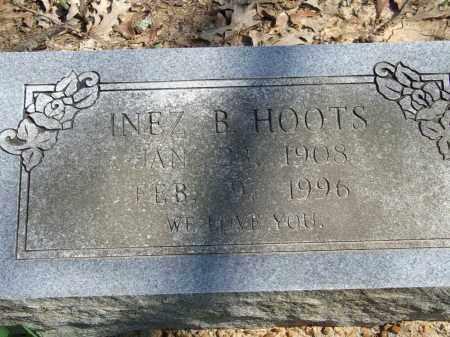 HOOTS, INEZ B. - Greene County, Arkansas | INEZ B. HOOTS - Arkansas Gravestone Photos