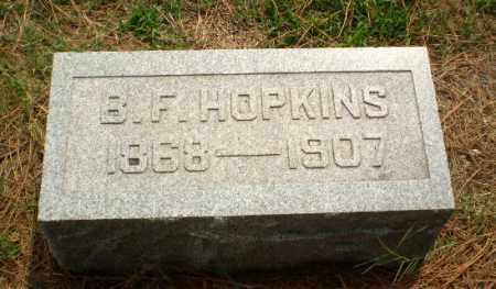 HOPKINS, B.F. - Greene County, Arkansas | B.F. HOPKINS - Arkansas Gravestone Photos