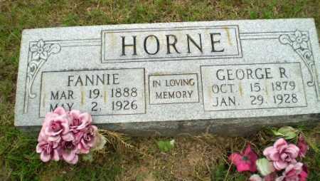 HORNE, FANNIE - Greene County, Arkansas | FANNIE HORNE - Arkansas Gravestone Photos