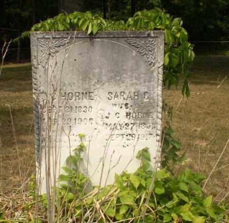 HORNE, SARAH C - Greene County, Arkansas | SARAH C HORNE - Arkansas Gravestone Photos