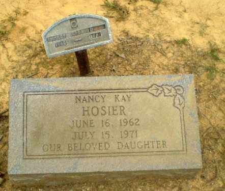 HOSIER, NANCY KAY - Greene County, Arkansas | NANCY KAY HOSIER - Arkansas Gravestone Photos