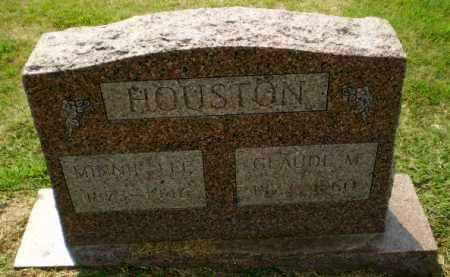 HOUSTON, MINNIE - Greene County, Arkansas | MINNIE HOUSTON - Arkansas Gravestone Photos