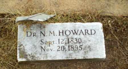 HOWARD, DR, N.M. - Greene County, Arkansas | N.M. HOWARD, DR - Arkansas Gravestone Photos