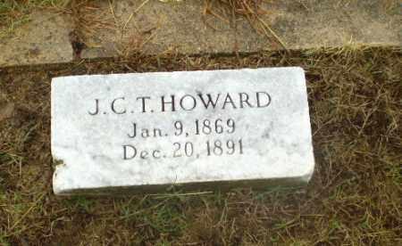 HOWARD, J.C.T. - Greene County, Arkansas   J.C.T. HOWARD - Arkansas Gravestone Photos