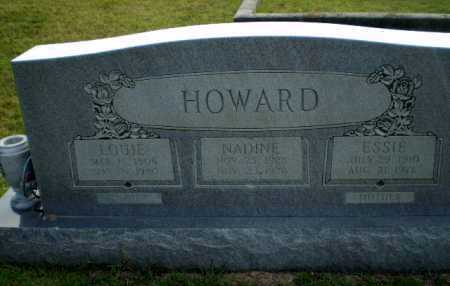 HOWARD, NADINE - Greene County, Arkansas | NADINE HOWARD - Arkansas Gravestone Photos