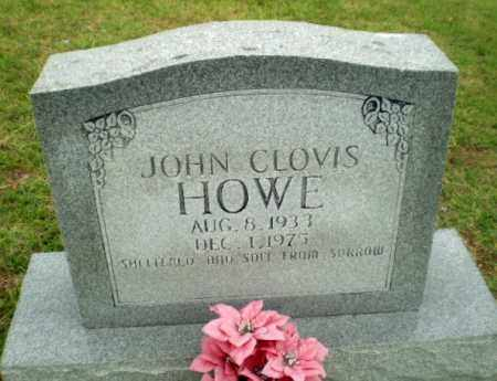 HOWE, JOHN CLOVIS - Greene County, Arkansas | JOHN CLOVIS HOWE - Arkansas Gravestone Photos